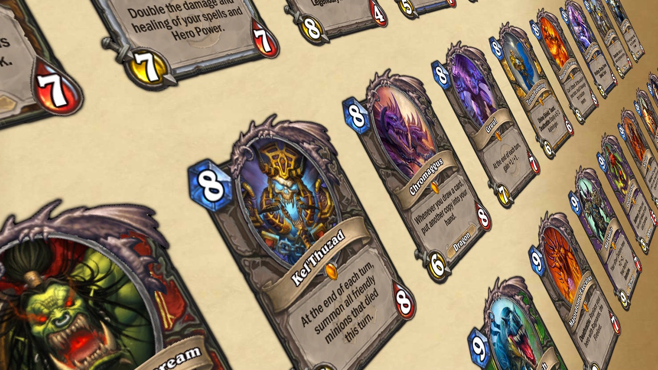 Hearthstone 3d card viewer in pure javascript/css3
