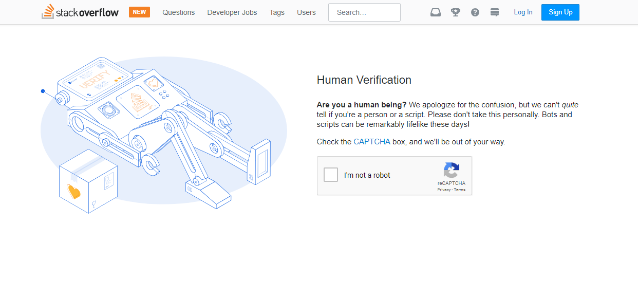 May 2018 a box in space stackoverflow captcha fandeluxe Gallery