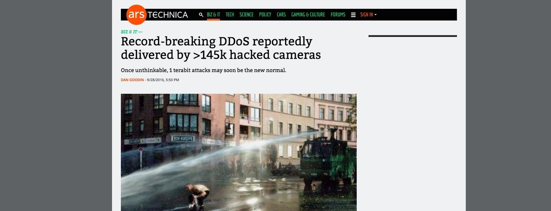 OVH DDOS attack