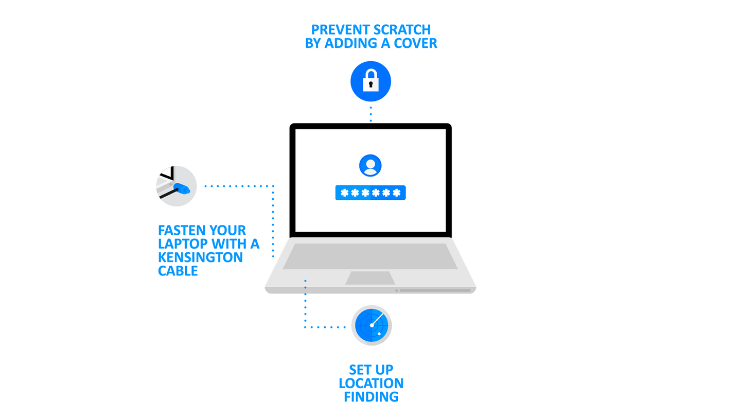 Ten simple steps for keeping your laptop secure
