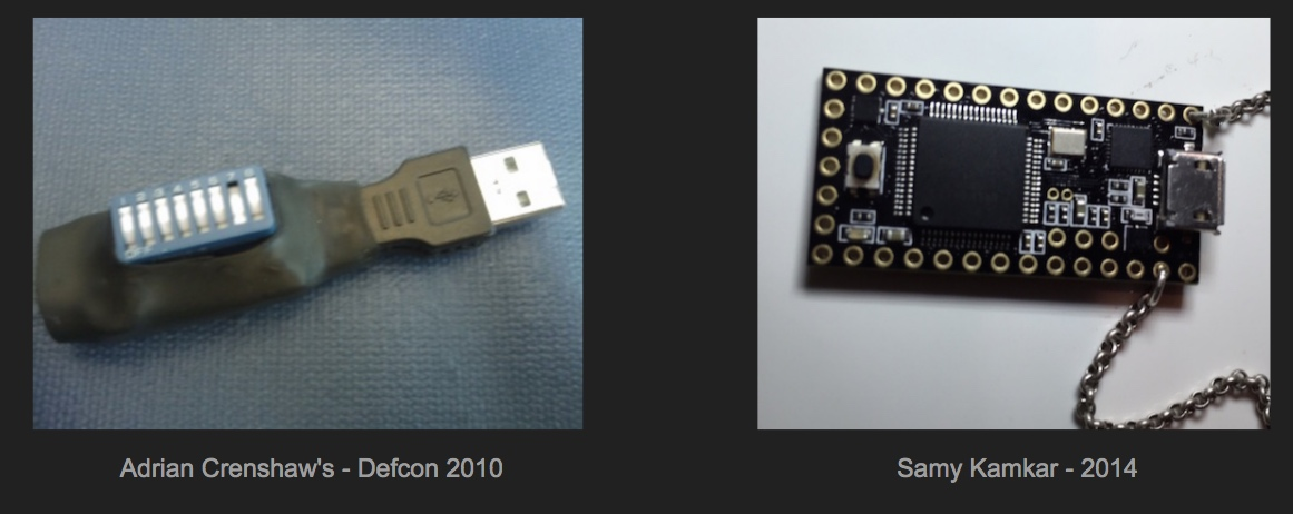 What are malicious usb keys and how to create a realistic one?